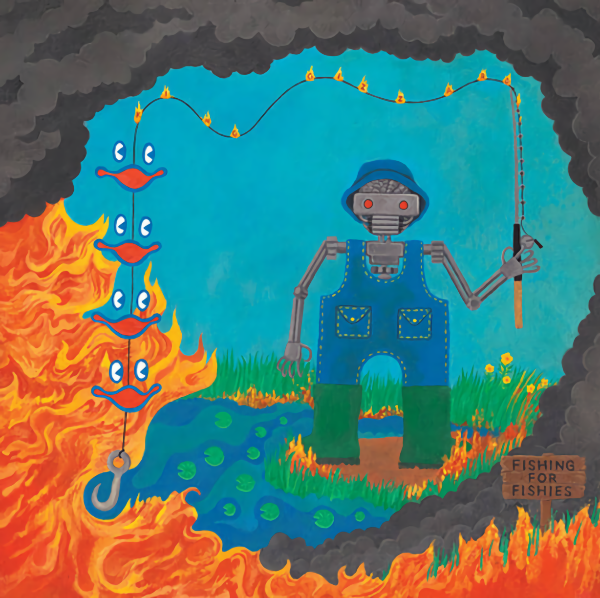 KING GIZZARD & THE LIZARD WIZARD – FISHING FOR FISHIES