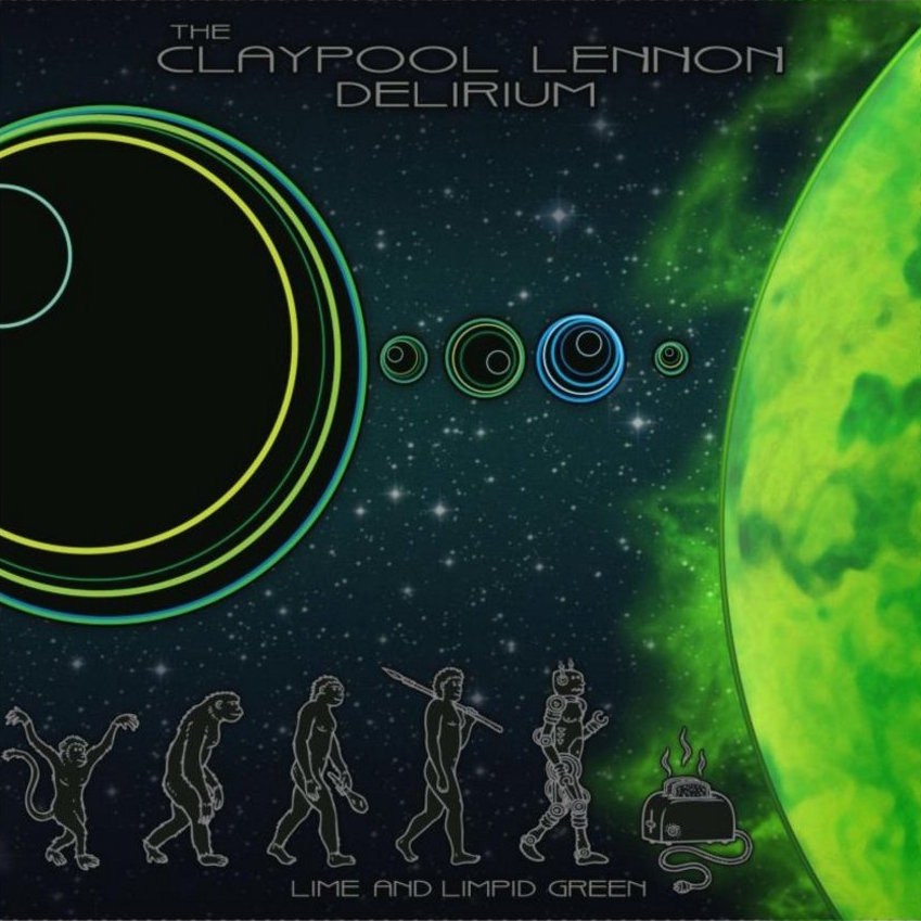THE CLAYPOOL LENNON DELIRIUM – LIME AND LIMPID GREEN (EP)