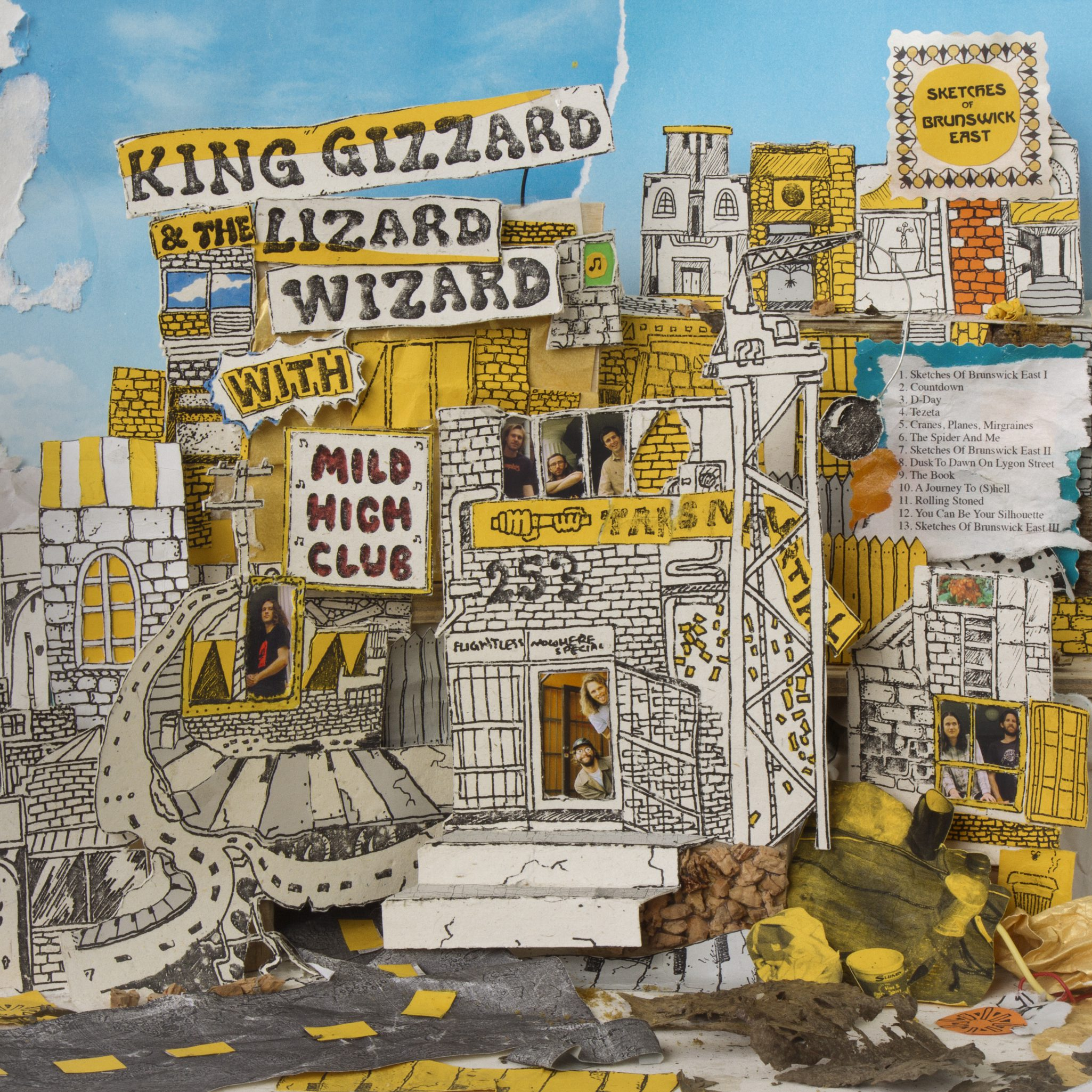 MILD HIGH CLUB WITH KING GIZZARD & THE LIZARD WIZARD – SKETCHES OF BRUNSWICK EAST