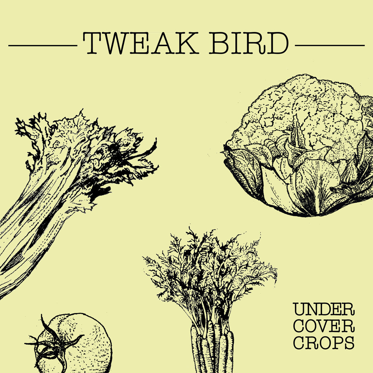 TWEAK BIRD – UNDER COVER CROPS (EP)